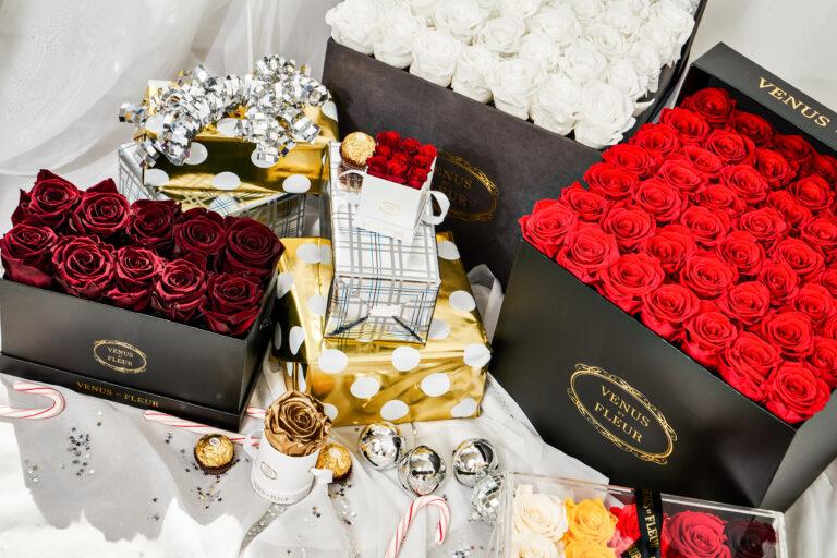 venus et fleur roses and gift warps